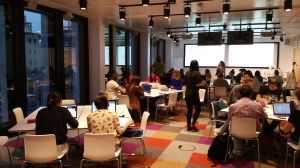 love2d beginner game programming workshop at the Berlin Google office in August 2015 as part of Women Techmakers.